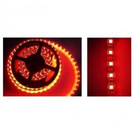 STRISCIA LED FLESSIBILE SILICONATA 300 LED SMD 3528 ROSSI 5 mt