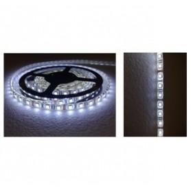 STRISCIA LED FLESSIBILE SILICONATA 300 LED SMD 5050 BIANCHI FREDDI 5 MT led grossi