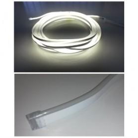 STRISCIA LED FLESSIBILE SILICONATA A LED NEON 220 V BIANCHI FREDDI 1mt