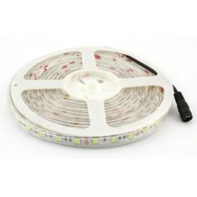 STRISCIA LED SMD5050 BIANCO CALDO 60 LED mt IP65 12Volt