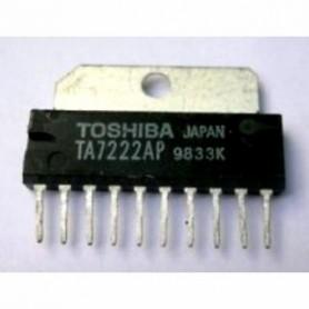 TA 7222 CIRCUITO INTEGRATO 5,8W 10 P.