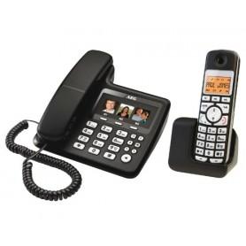 TELEFONO COMBO NERO LCD 1.7 TASTI GRANDI