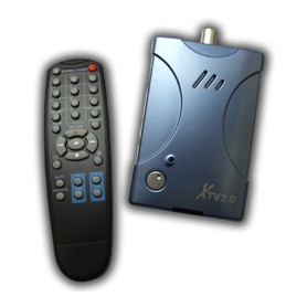 TV BOX + GRABBER AUDIO USB 2.0 - VIDEO + TELECOMANDO